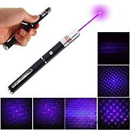 În formă de stilou - Aliaj de Aluminiu - Pointer Laser Violet