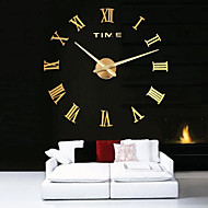 Large Metal Home Decor DIY Wall Clock 12S100