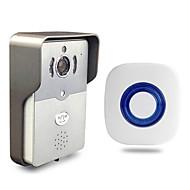 Besetye® Indoor Bell and Smart Wifi Video Doorbell HD720P Full Duplex Audio Max 5 User Use Wifi Doorbell for Phone Pad PC