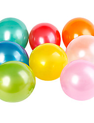 Pearlized Round Balloons(Can Choose Color,100Pcs)