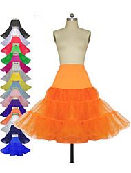 glijdt 3 tier jaren '50 retro onderrok swing vintage tutu petticoat