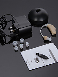 High Quality Rechargeable Hearing Aids Audiphone Sound Amplifier Adjustable Tone US Adapter