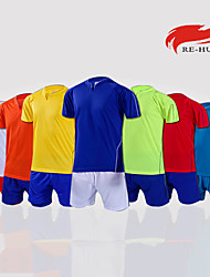 Men's Short Sleeve Soccer Clothing Sets/Suits Breathable Yellow / White / Red / Sky Blue Football/Soccer XS / S / M / L / XL / XXL / XXXL