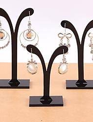 Jewelry Displays Acrylic Black