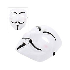V for Vendetta Costume Cosplay Vivid Anonymous Guy Fawkes Mask for Adult