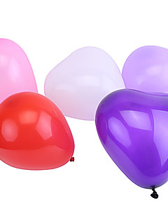 Extra Large Size Pearlized Heart-shaped Balloons(Can Choose Color,50Pcs)