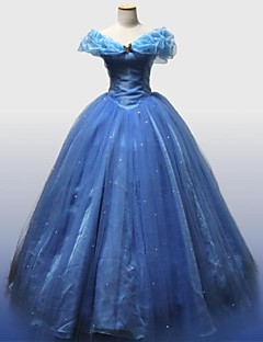 Cinderella Movie Version Deluxe Prom Dress Cosplay Costume