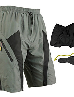 SANTIC® Cycling Shorts Men's Bike Breathable / Quick Dry / Wearable / 3D Pad Shorts / Padded Shorts/Chamois / Baggy shorts / Bottoms
