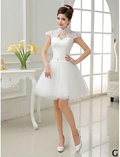 4d6060691010 Κοντό   Μίνι Τούλι Mix   Match Σετ Φόρεμα Παρανύμφων - Γραμμή Α    Πριγκίπισσα Ζιβάγκο