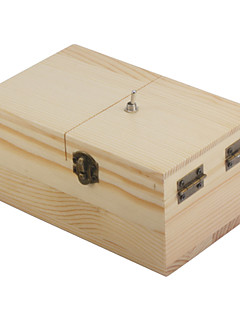 NEJE Wooden Useless Fully Assembled Machine Box Toy - Light Brown