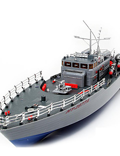 Warship HT HengTai HT-2877 1:115 Battleship RC Boat Brushless Electric 2CH Gray