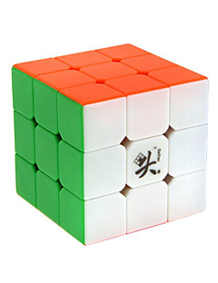 Dayan® Magic Cube 3*3*3 Smooth Speed Cube Rainbow Zhanchi Anti-pop / Adjustable spring ABS Toys