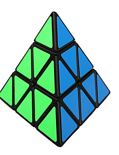 Shengshou® Magic Cube 3*3*3 Speed / Professional Level Smooth Speed Cube Black PVC Toys