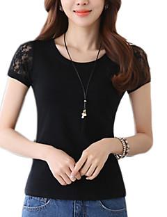 f789c8103050 Γυναικεία T-shirt Καθημερινά Απλό   Κομψό στυλ street Μονόχρωμο