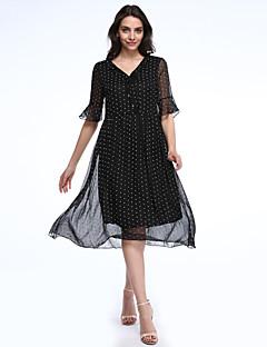 b172a50dcff1 Γυναικείο Εξόδου Κομψό στυλ street Σιφόν Swing Φόρεμα