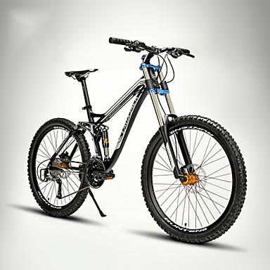 Bicicleta de Montaña Ciclismo 27 Velocidad 26 pulgadas/700CC 60mm ...