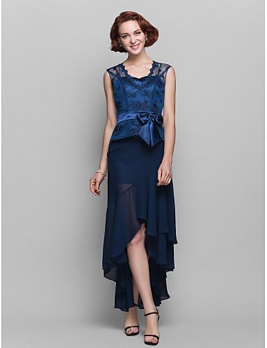 bad610d120 Lanting Bride® Szűk szabású Molett / Filigrán Örömanya ruha ...