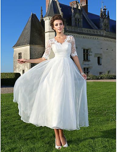 Lan Ting Bride A Linie Princess Svatebni Saty Elegantni Moderni